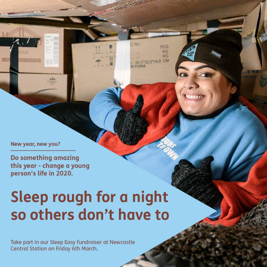 Sleep rough for a night so others don't have to